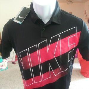 Nike Golf Polo. New. Kid Sizes: L & XL